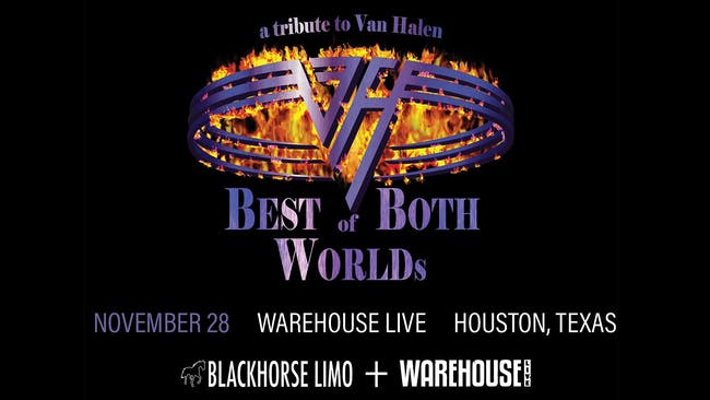 Best of Both Worlds: Tribute to Van Halen, with Tributes to UFO & Dokken at Warehouse Live