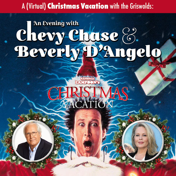 Houston's Society for the Performing Arts (SPA) presents the virtualAn Evening with Chevy Chase and Beverly D'Angelo—