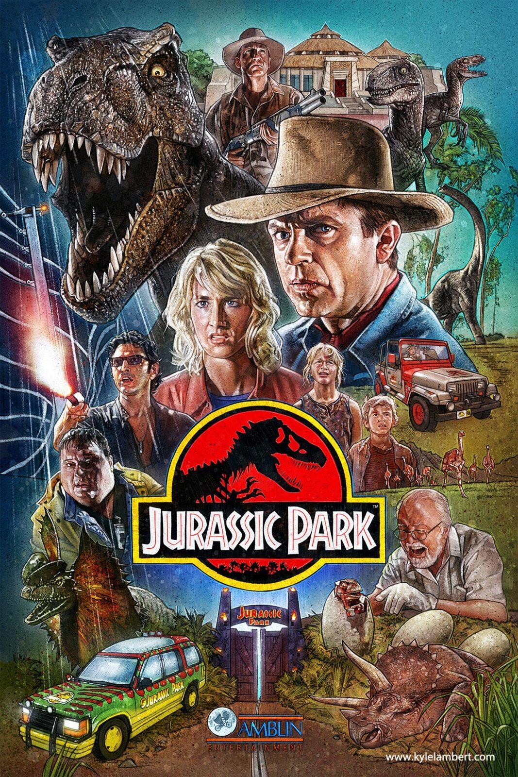 Jurassic Park Movie Screening Moonstruck Drive-In