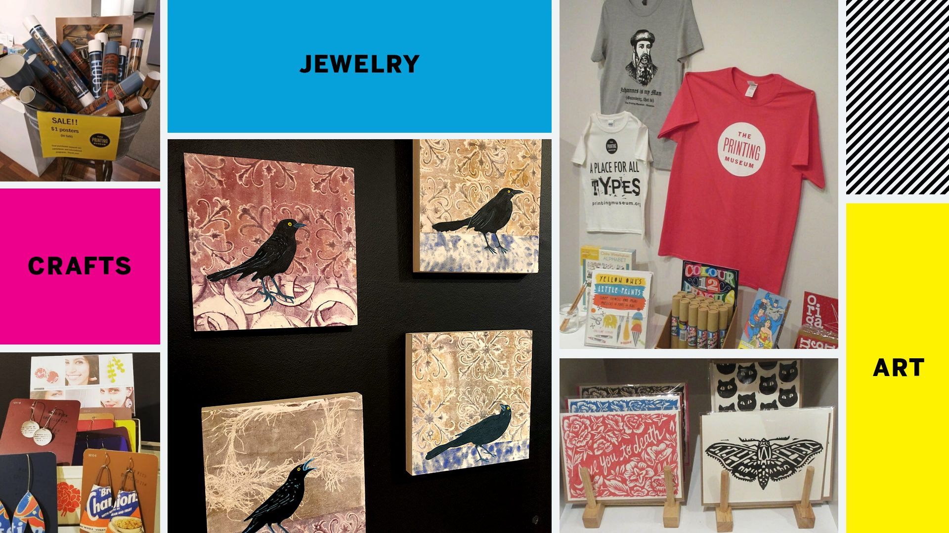 Montrose Art & Gift Market at The Printing Museum