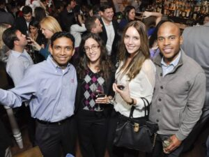 Networking in Houston downtown