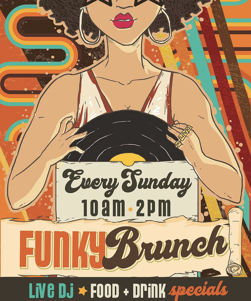 Funky Brunch & Heights Morning Market at Onion Creek Cafe