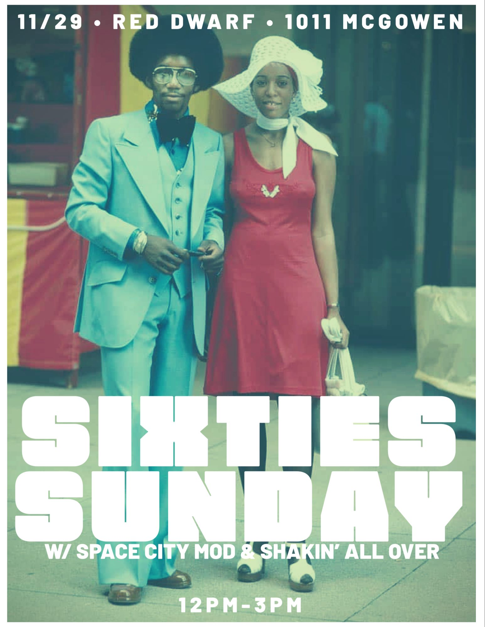 Sixties Sunday Brunch at Red Dwarf HTX