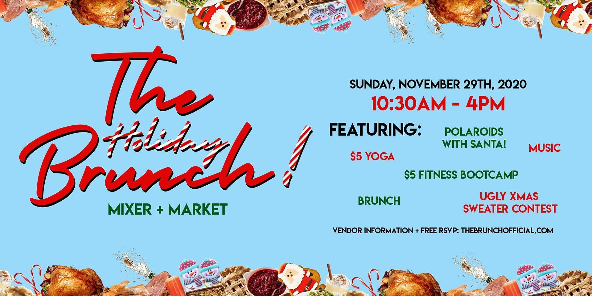 The Holiday Brunch Mixer & Market at Pitch