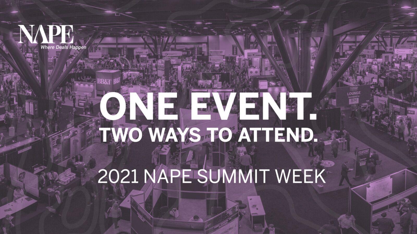 2021-NAPE-Summit-Week